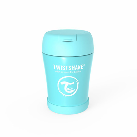 Picture of Twistshake® Stainless Steel Food Container Blue
