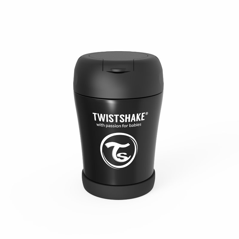 Immagine di Twistshake®  Portapappa termico 350ml Black