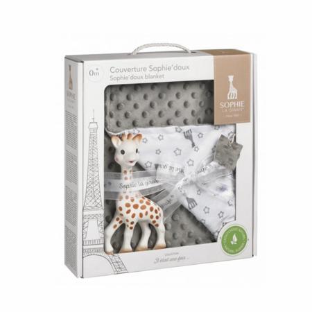 Immagine di Vulli® Set regalo morbida coperta e massaggiagengive Giraffa Sophie