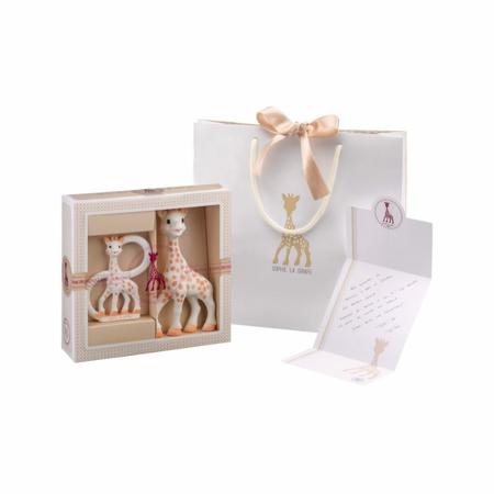 Immagine di Vulli® Set regalo anello massaggiagengive e Sophie Giraffa