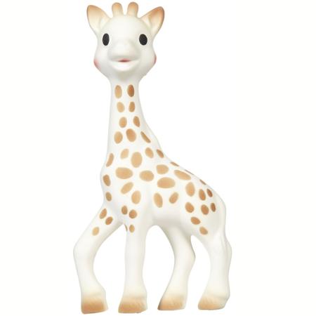 Vulli® Darilni set Žirafa Sophie in ropotulja Sophiesticated