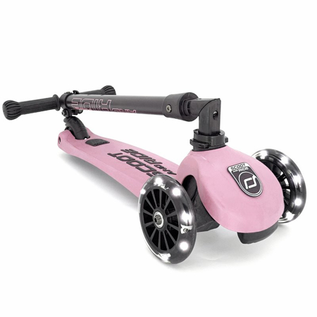 Scoot & Ride® Otroški skiro Highwaykick 3 Rose LED