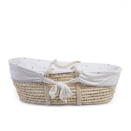 Immagine di Childhome® Rivestimento in cotone per la cesta Moses