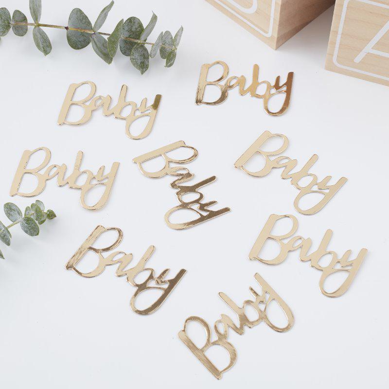 Immagine di Ginger Ray® Coriandoli decorativi da tavola Oh Baby!