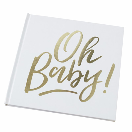 Immagine di Ginger Ray® Libro ricordi Oh Baby!