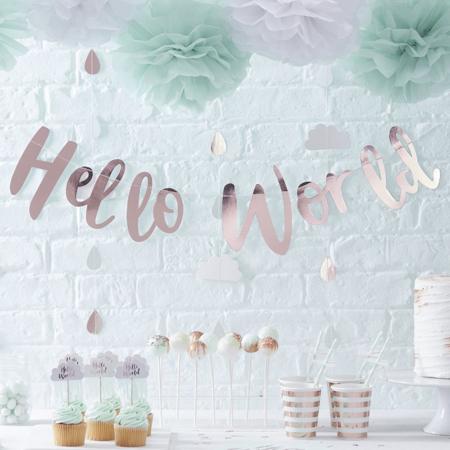 Immagine di Ginger Ray® Coriandoli decorativi da tavola Hello World