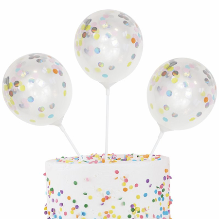 Immagine di Ginger Ray® Palloncino decorativo per torta Pastel Party 5 pz.