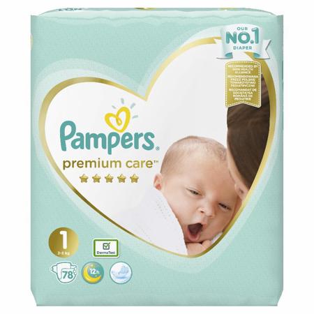 Picture of Pampers® Pleničke Premium Care novorojenčki vel. 1 (2-5kg) 78 kosov
