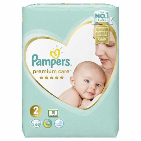 Picture of Pampers® Pleničke Premium Care novorojenčki vel. 2 (4-8kg) 68 kosov