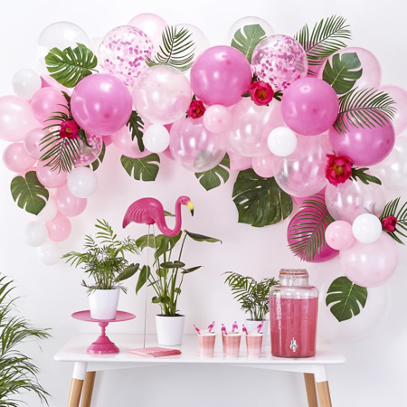 Immagine di Ginger Ray® Set Arco palloncini Pink