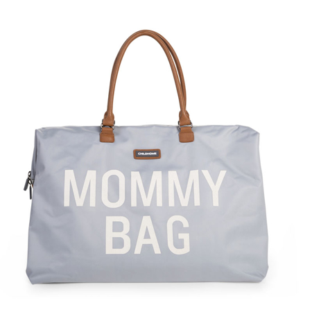 Immagine di Childhome® Borsa fasciatoio Mommy Bag Grey/White