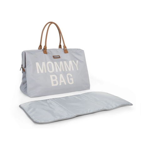 Immagine di Childhome® Borsa fasciatoio Mommy Bag Grey/White