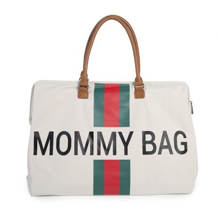 Immagine di Childhome® Borsa fasciatoio Mommy Bag Green/Red
