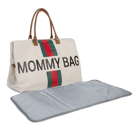Immagine di Childhome® Borsa fasciatoio Mommy Bag Green/Red