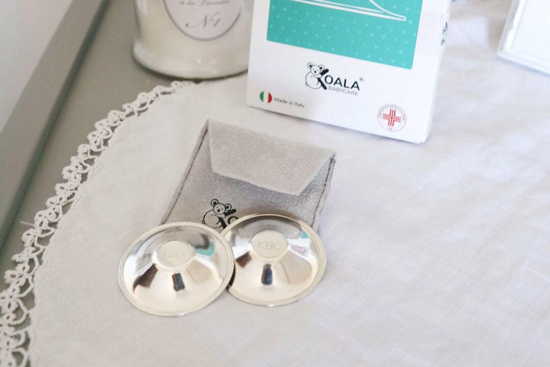 Koala Babycare Silver Cups coppette copri capezzolo