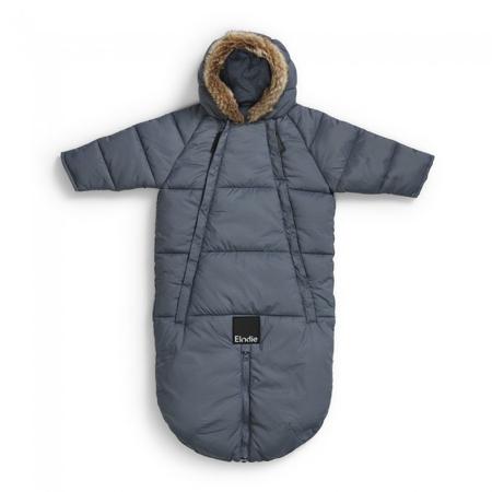 Elodie Details® Tutina e sacco invernale Tender Blue 6-12 M