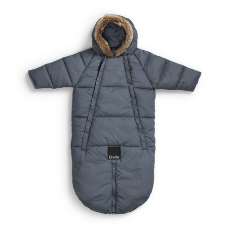 Elodie Details® Tutina e sacco invernale Tender Blue 0-6 M