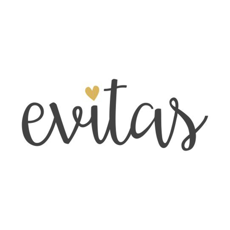 Immagine di Evitas® Bavaglino in cotone Lines