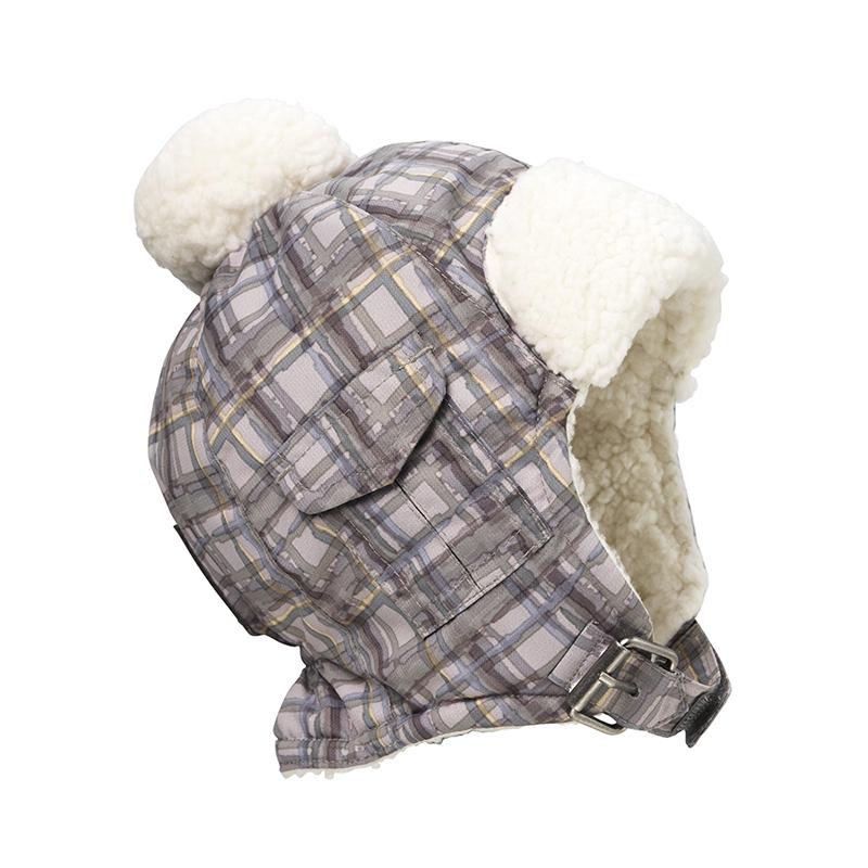 Immagine di Elodie Details® Cappellino invernale Paris Check 0-6 M