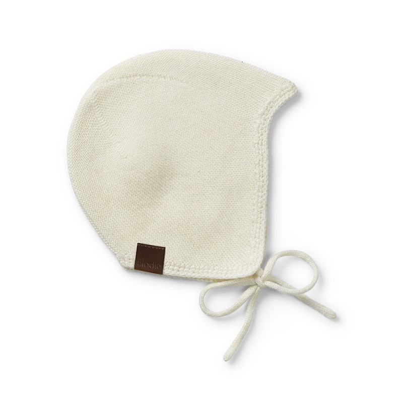 Immagine di Elodie Details® Primo cappellino Vanilla White 6-12 M