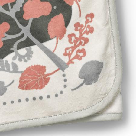 Immagine di Elodie Details® Coperta di velluto Rebel Poodle Vanilla White 75x100