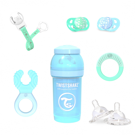 Immagine di Twistshake® Baby Boy pacco regalo Blue&Green