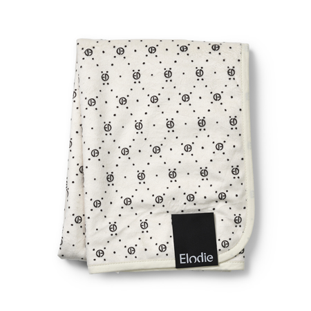 Picture of Elodie Details® Žametna odejica Monogram 75x100