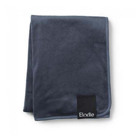 Picture of Elodie Details® Žametna odejica Juniper Blue 75x100