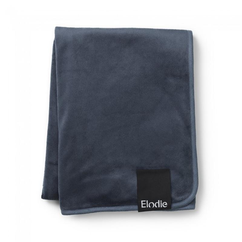 Immagine di Elodie Details® Coperta di velluto Juniper Blue 75x100