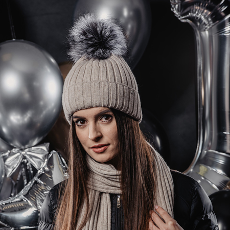 Immagine di Jamiks® Cappellino invernale Asiula Beige