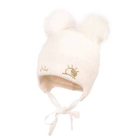 Immagine di Jamiks® Cappellino Invernale Zina Ecru 42 cm