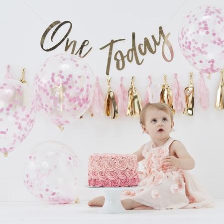 Immagine di Ginger Ray® Cake Smash per primo compleanno Pink