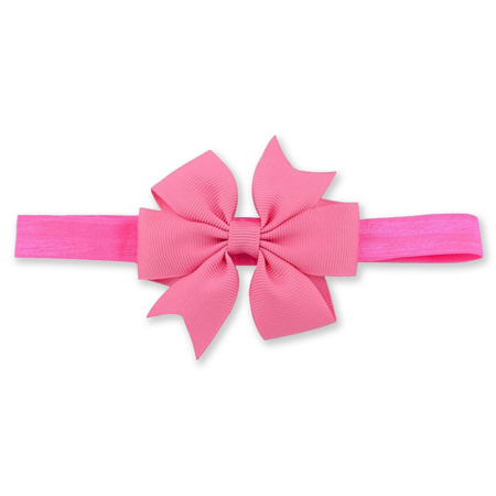 Picture of Elastic Bowknot Bright Pink