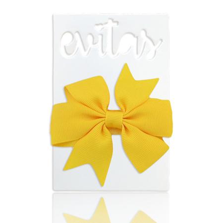 Immagine di Fascia elastica per capelli Fiocco Yellow