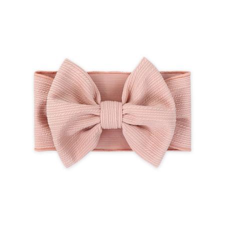 Immagine di Fascia per capelli con fiocco Rosa