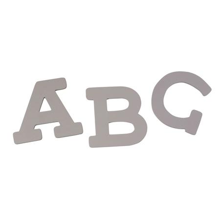 Immagine di BamBam® Lettere di legno Grigie
