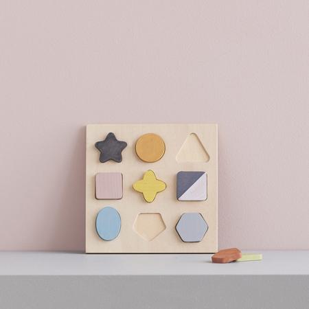 Kids Concept® Puzzle in legno GEO