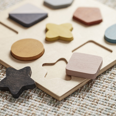 Immagine di Kids Concept® Puzzle in legno GEO