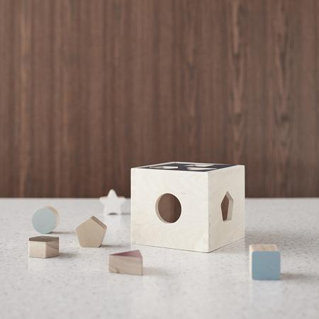 Kids Concept® Gioco con le forme in legno Aiden