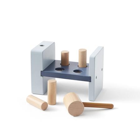 Immagine di Kids Concept® Gioco in legno con martello Edvin Blue