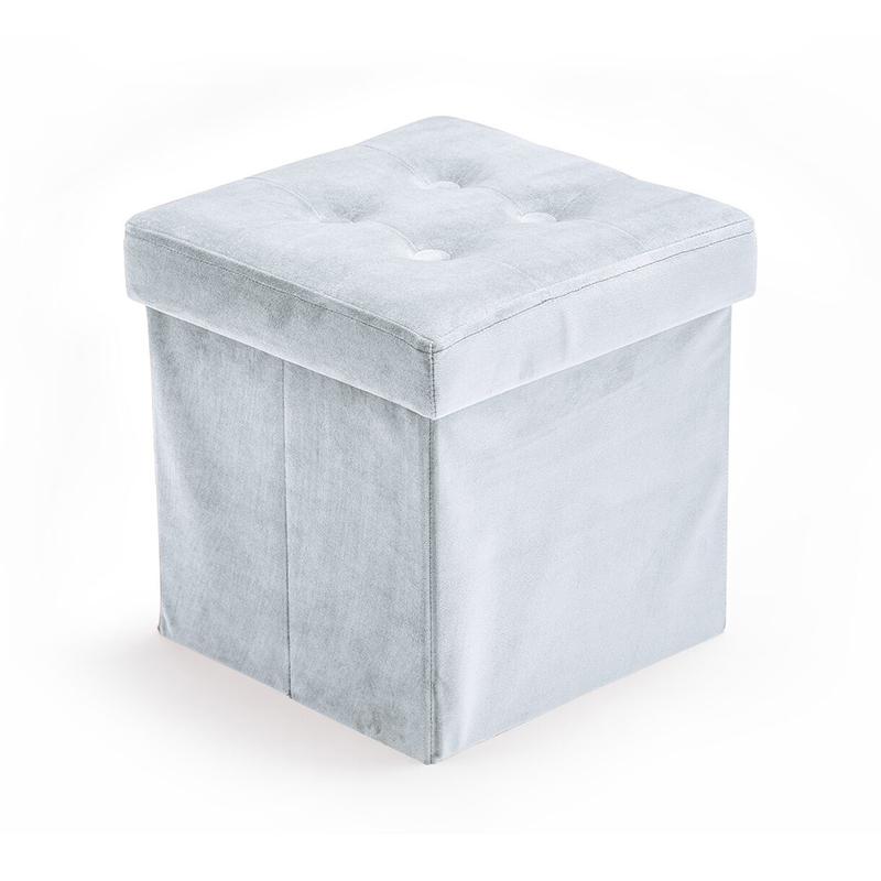 Immagine di Kids Concept® Sedile e contenitore 2 in 1 Velvet Light Blue