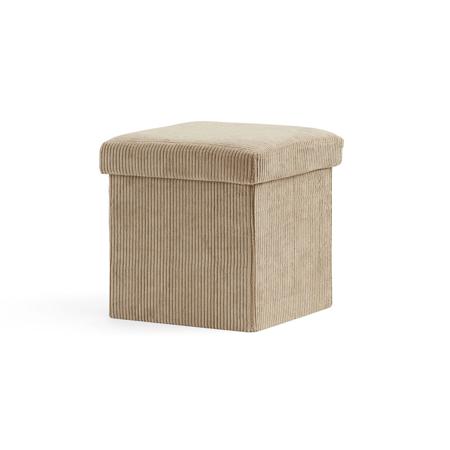 Slika Kids Concept® Sedež in škatla za shranjevanje Corduroy