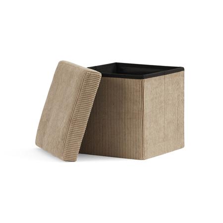 Kids Concept® Sedile e contenitore 2 in 1 Corduroy