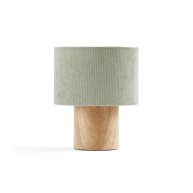 Picture of Kids Concept® Table Lamp Corduroy Light Green