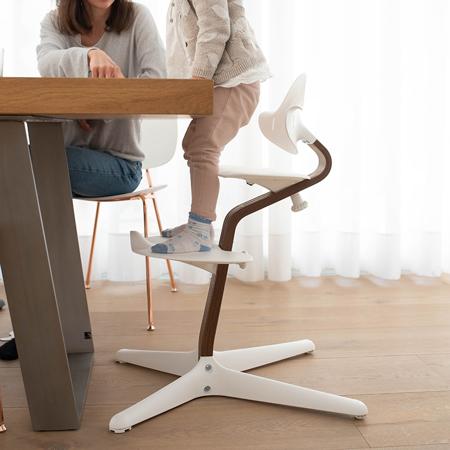 Nomi® Seggiolone White (sedile, schienale, poggiapiedi)