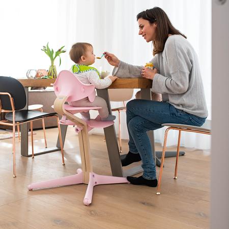 Nomi® Seggiolone Pale Pink  (sedile, schienale, poggiapiedi)