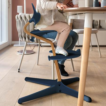 Nomi® Seggiolone Navy  (sedile, schienale, poggiapiedi)