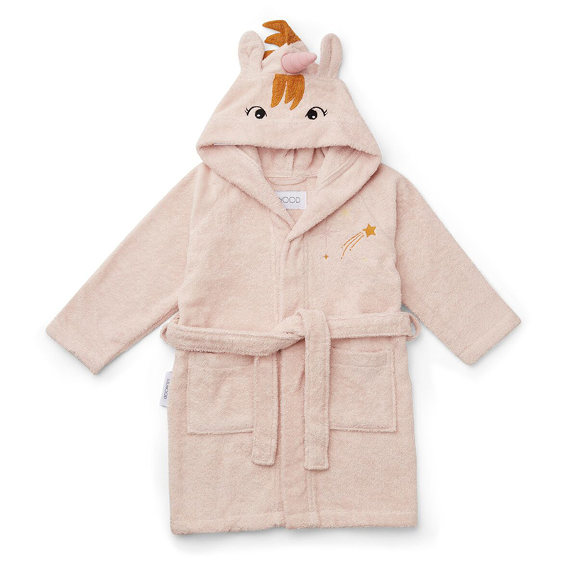 Picture of Liewood® Bathrobe Unicorn Sorbet Rose 3/4 Y