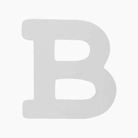 BamBam® Lettere di legno Bianche - B