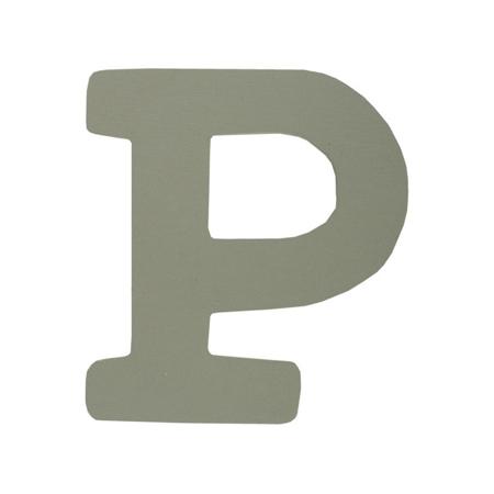 BamBam® Lettere di legno Grigie - P